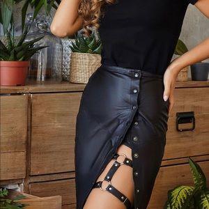 Adjustable Harness Garter Belt Suspenders Leg Ring